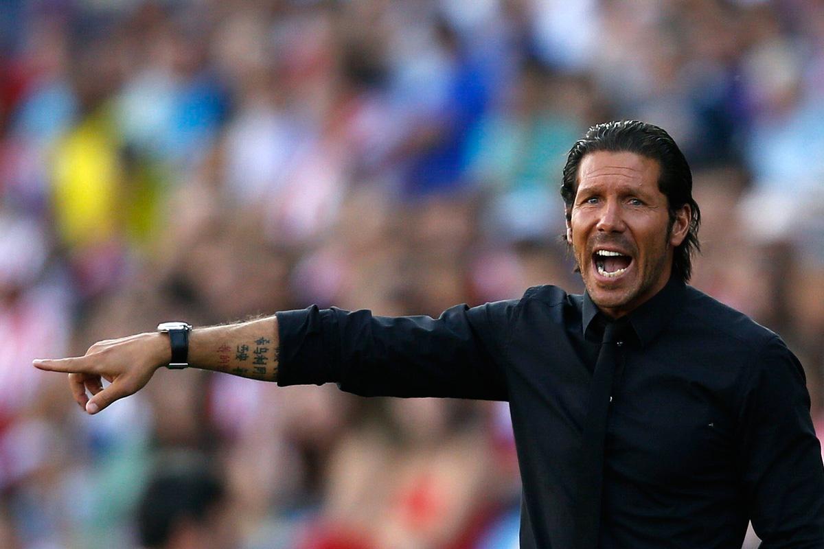 Simeone, el técnico rojiblanco con más partidos en Europa